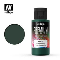 Краска акрил-уретановая Vallejo Premium/  черный candy